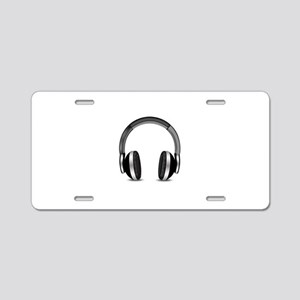 Earmuffs Earphone Headphone Aluminum License Plate