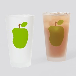 Granny Smith Apple Drinking Glass