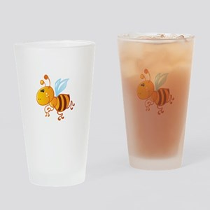 Bumblebee Bee Insect Drinking Glass