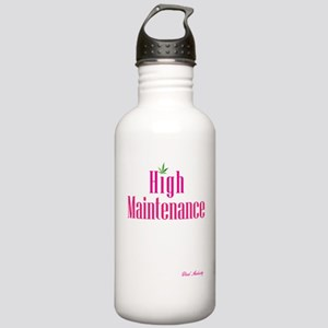 High Maintenance (Pink Stainless Water Bottle 1.0L