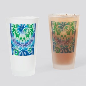 """skulls"" sports Drinking Glass"