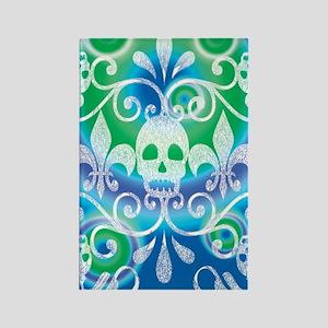 skulls aug202014 Rectangle Magnet