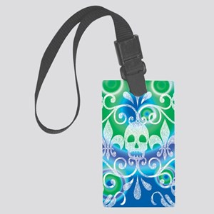 skulls aug202014 Large Luggage Tag
