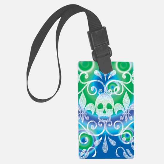 skulls aug202014 Luggage Tag