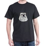 Proud English Bulldog Dark T-Shirt