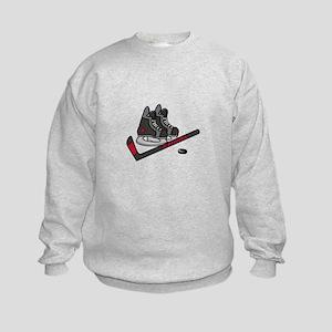 Hockey Skates Sweatshirt