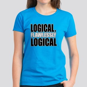 Spock Logic Women's Dark T-Shirt