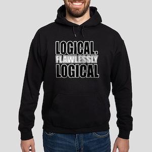 Spock Logic Hoodie (dark)