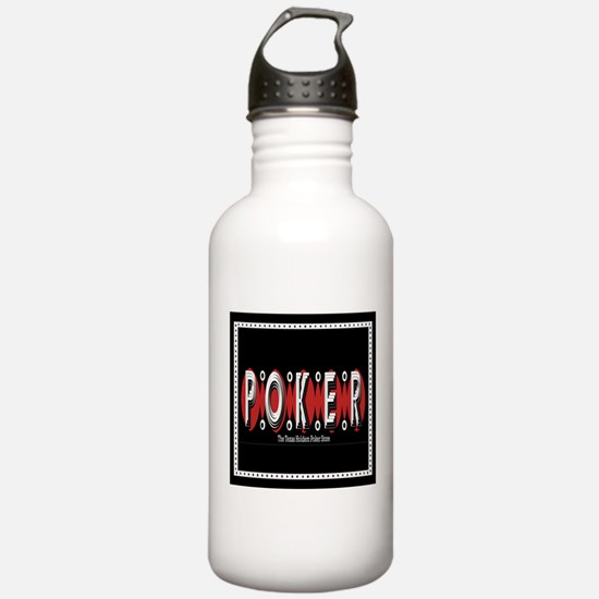 Funny Holdem Sports Water Bottle