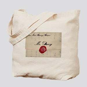 Mr Darcy Love Letter Tote Bag