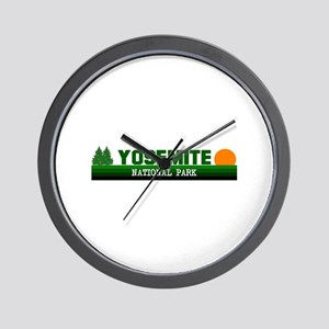 Yosemite National Park Wall Clock