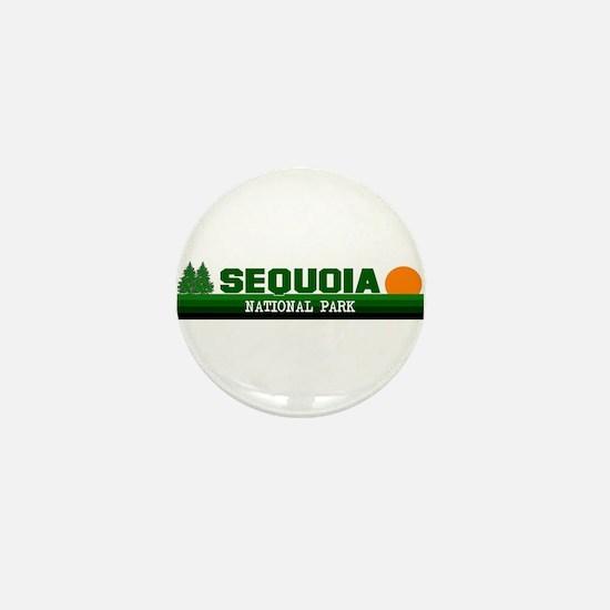 Sequoia National Park Mini Button