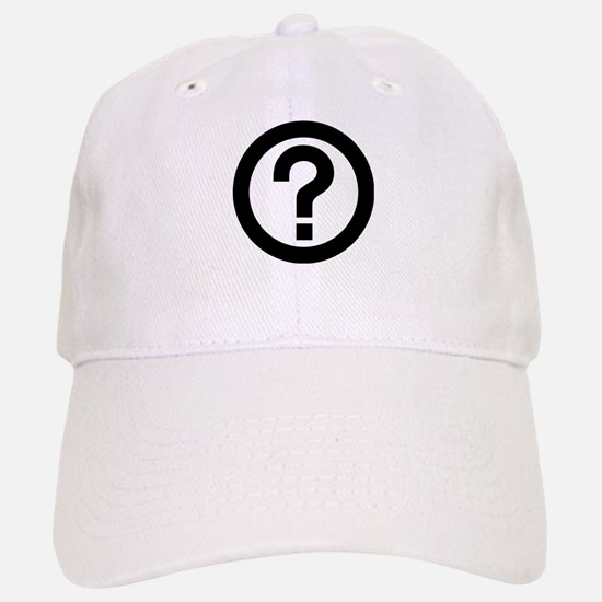 Question Mark Icon Baseball Baseball Cap