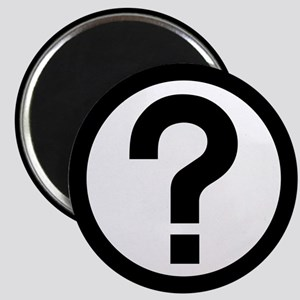 "Question Mark Icon 2.25"" Magnet (10 pack)"