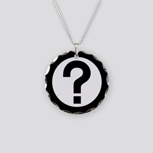 Question mark jewelry cafepress question mark icon necklace circle charm aloadofball Image collections