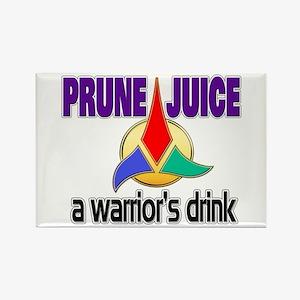 Worf Prune Juice Rectangle Magnet