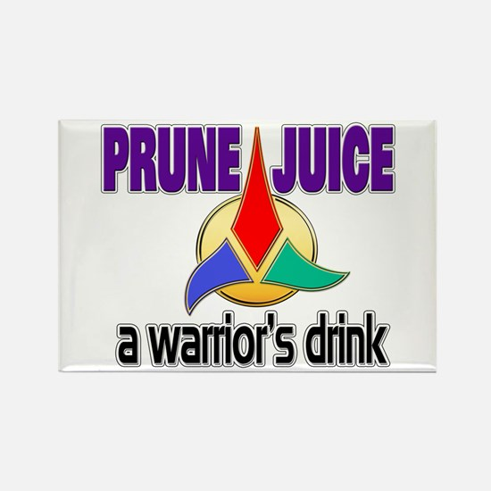 Worf Prune Juice Rectangle Magnet