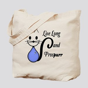 Vulcan Greeting Kitty Tote Bag