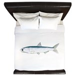 California Northern Anchovy King Duvet