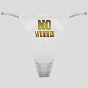 No Worries Classic Thong