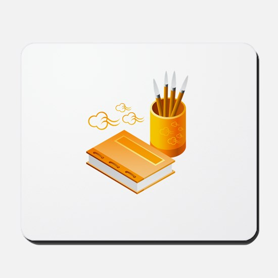 Letter Opener Writing Book Mousepad
