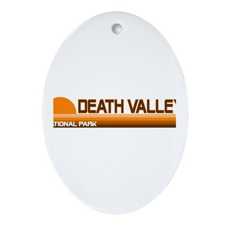 Death Valley National Park Oval Ornament