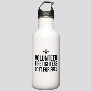Volunteer firefighters free Water Bottle
