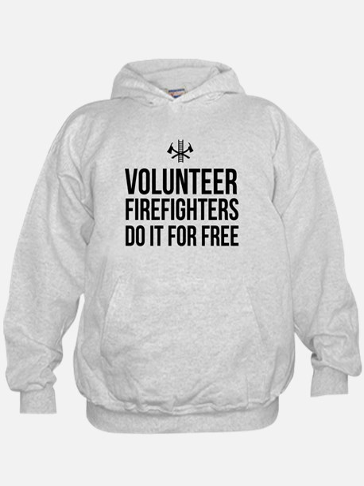 Volunteer firefighters free Hoodie