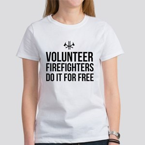 Volunteer firefighters free T-Shirt