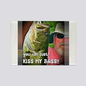 KISS MY BASS!! Magnets