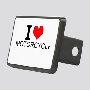 I Love Motorcycles Hitch Cover