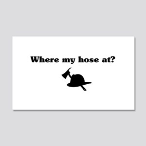 Where my hose at? Wall Decal