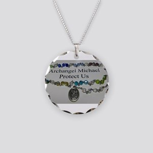 Archangel Michael Protect Us Necklace