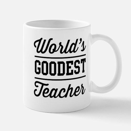 World's goodest teacher Mugs