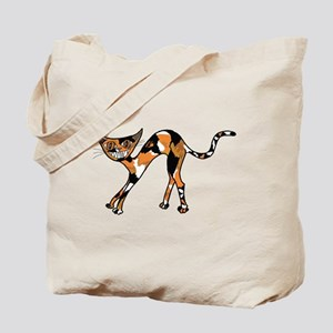 Sweet Calico Kitty Tote Bag