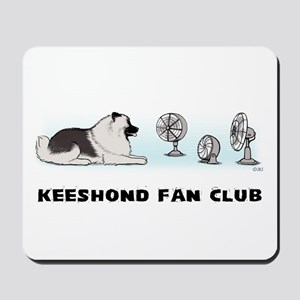 Keeshond Fan Club Mousepad