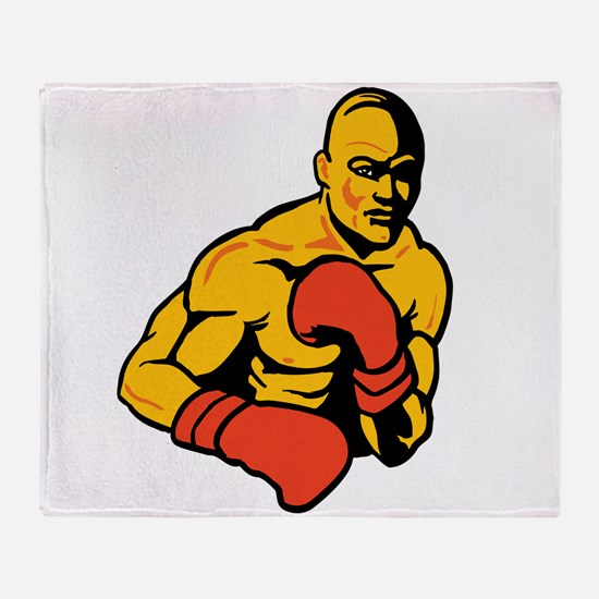 Boxing Throw Blanket