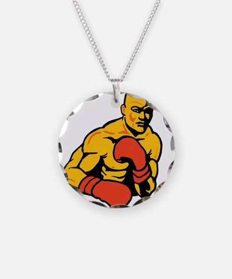 Boxing Necklace
