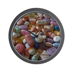 Pile Of Pills Wall Clock