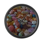 Pile of Pills Large Wall Clock