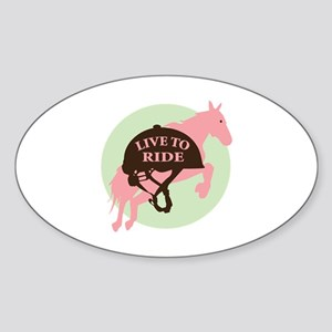 Live To Ride Sticker