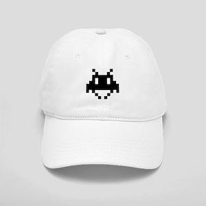 8-bit alien Baseball Cap