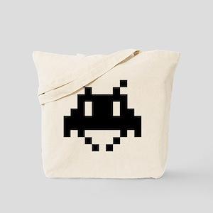 8-bit alien Tote Bag