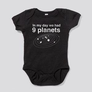 In my day 9 planets Baby Bodysuit