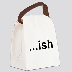 ...ish Canvas Lunch Bag