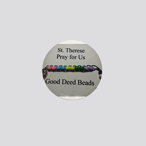St. Therese Good Deed Beads Mini Button