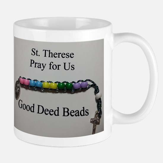 St. Therese Good Deed Beads Mugs