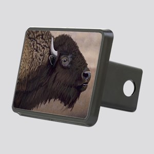 Bison Rectangular Hitch Cover