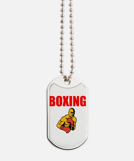 Boxing Dog Tags