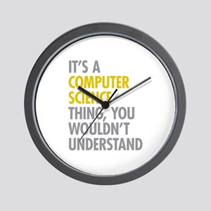 Its A Computer Science Thing Wall Clock